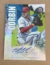 ^^撸卡厮^^ 2019 topps 棒球 fire 签名卡 油画喷墨带折射风格 PATRICK CORBIN 卡品看描述