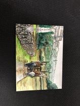 【深圳实体店铺】格子1003 2017 HBO 权力的游戏 手绘卡 超大比例 SP 几箱难出一张 顶尖画家绘制 意境非凡美如画 其他手绘再拍中