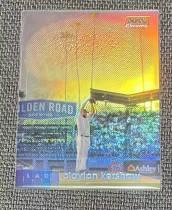洛杉矶道奇 Clayton Kershaw 2020 Topps Stadium Club Orange Chrome Parallel  57/99