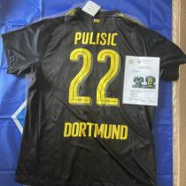 多特蒙德 普利西奇 16-17赛季客场亲笔签名球衣 bvb PULISIC 现 切尔西Chelsea 球员 美国队长 USMNT 带证书