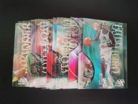 1998-99 Skybox EX套卡25张 胶片卡 经典设计