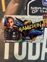 2020 topps chrome F1 汉密尔顿 涂鸦特卡
