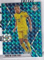 【高远球星卡拍卖】帕尼尼2020欧洲杯马赛克 瑞典 夸伊森 Quaison 孔雀折base 美因茨