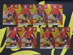 【Lucky球星卡店官方代拍-CC+0925】2021 Panini 马赛克 欧洲杯 米克尔·梅里诺 保托雷斯 罗德里 阿尔坎塔拉 西班牙 红金折 /88 8张