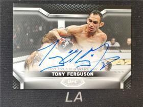 【LA拍卖】2020 Topps UFC Knockout 系列 托尼·弗格森 签字 /99   DBZ