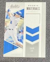 洛杉矶道奇 Gavin Lux 2020 Panini Absolute Rookie Materials Jersey Relic L A Dodgers
